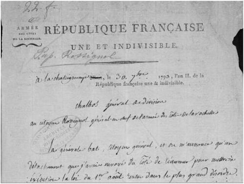 Les deux combats de Réaumur, déroute vendéenne de Saint-Mesmin....