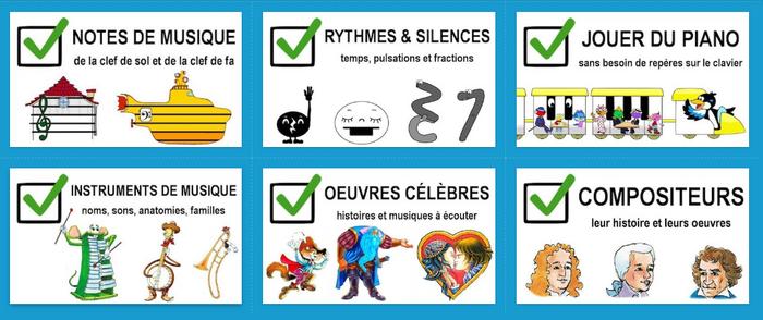 Contes audio Les compositeurs - éditions Mélopie