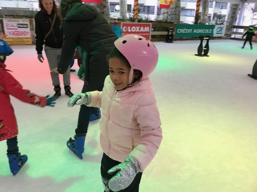Sorties patinoire