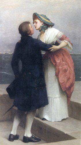 monsieurleprince:  Philip Hermogenes Calderon (1833-1898) - Farewell