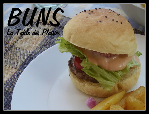 PAIN BUNS POUR HOT DOG ET BURGER