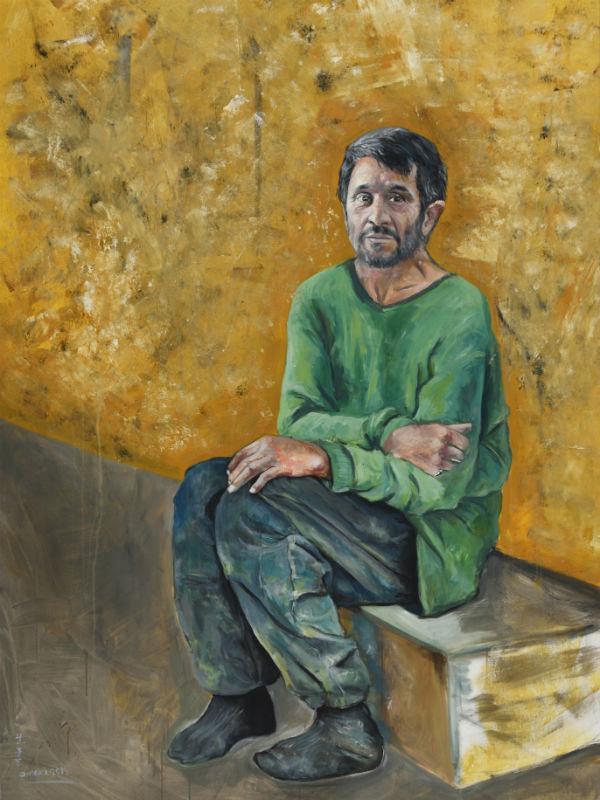 l'artiste syrien Abdalla Al Omari nous amène à réfléchir sur le sort des millions de réfugiés.