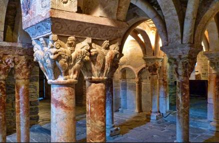 Le Prieuré Sainte-Marie de Serrabone, chef d'œuvre de l'art roman - Boule  d'Amont – Pyrénées-orientales - Midi-Pyrénées - Grand Sud Insolite et Secret