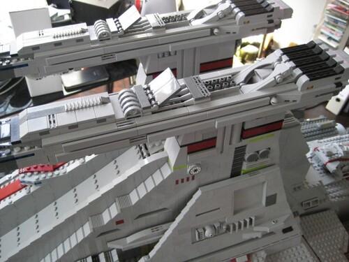 Destroyer Star Wars en Lego.