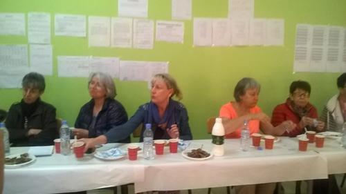 - accueil d'une délégation de l'association ALFA de La Roche sur Yon
