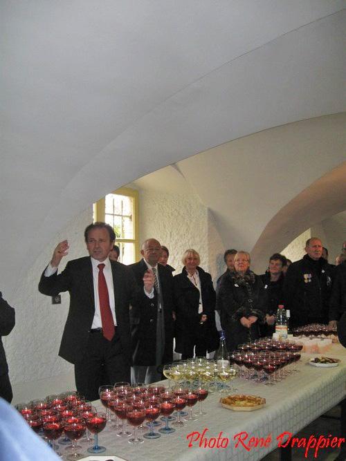 La cérémonie du 11 novembre 2011 à Châtillon sur Seine