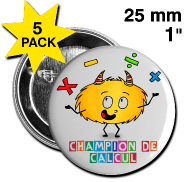 Badges champions avec Mystik's !