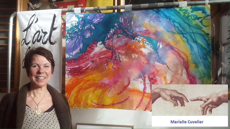 Marielle Cuvelier - salon bien-être Le Mouret 2016