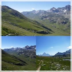 L'Ubaye et ses lacs : Lauzanier, Oronaye, Roburent, Loup, Roure...