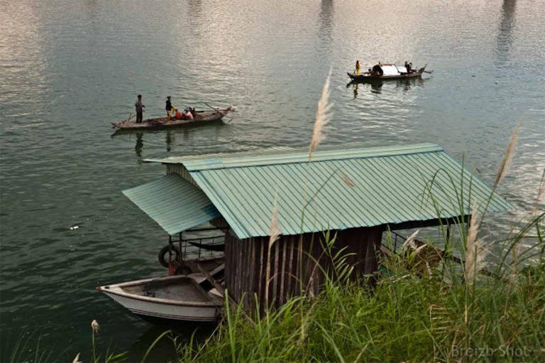 maison-bateau  Kompong Cham