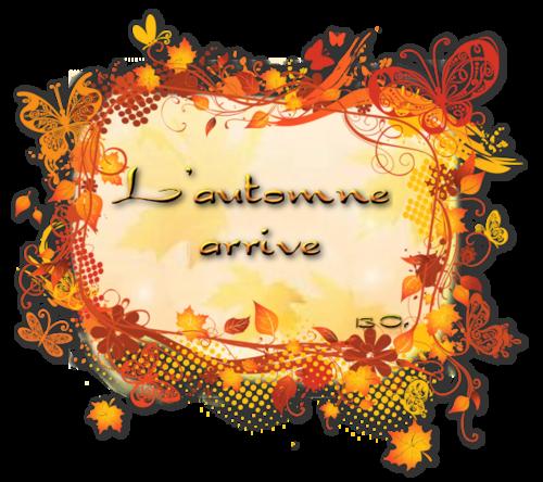 encadrements automne png