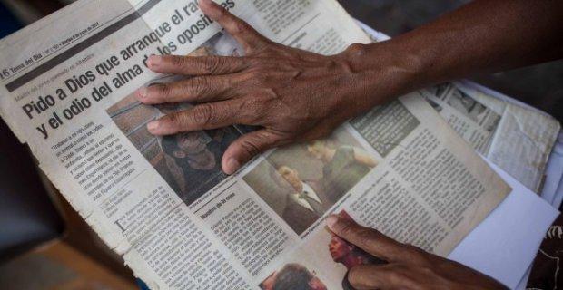 « Je demande à Dieu qu'il arrache la rage et la haine de l'âme des opposants » a déclaré la mère d'Orlando à un journal vénézuélien.