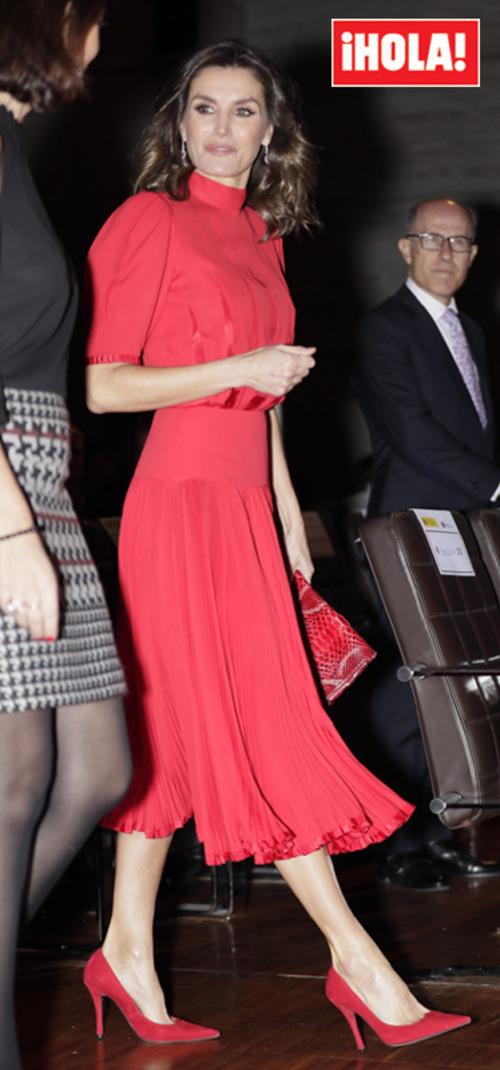 Letizia et l'industrie de la mode à Madrid