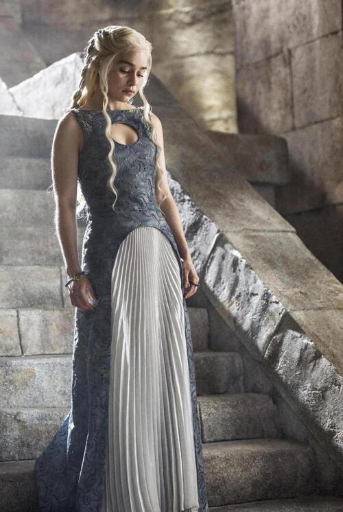 L'évolution du look de Daenerys: saison 4