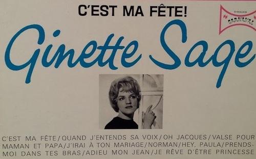 GINETTE SAGE