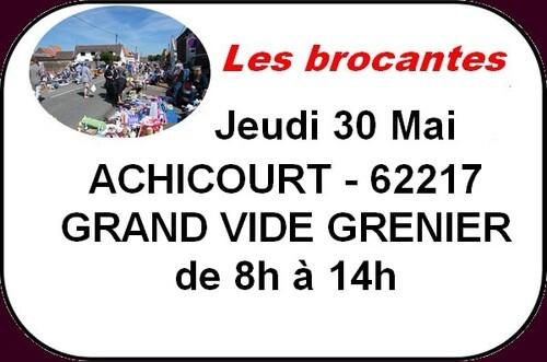 1001 jardins ou Achicourt en fête ce jeudi de l'ascension.