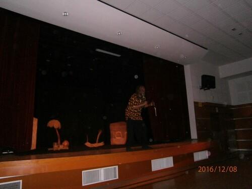 Spectacle de Noël pour les cycle 3 : Ballade Africaine - JEUDI 08 DECEMBRE 2016