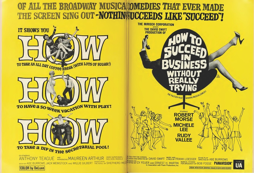 HOW TO SUCCEED IN BUSINESS WITHOUT REALLY TRYING  BOX OFFICE USA  1967