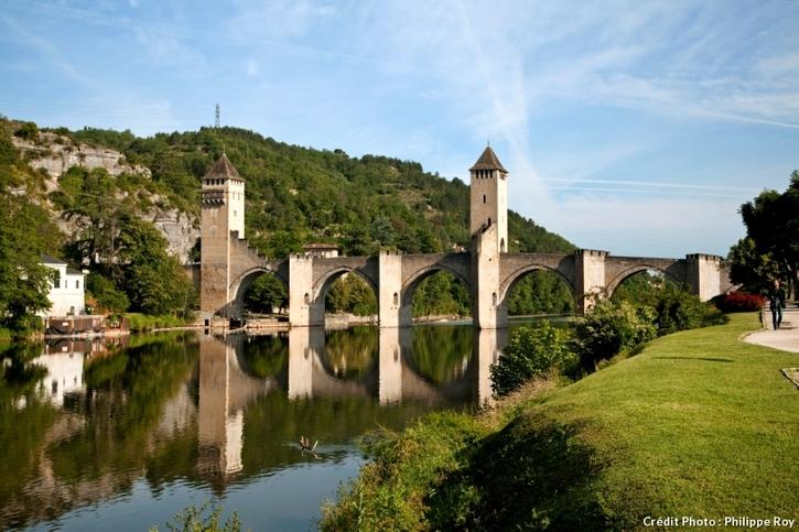 La pont Valentré à Cahors