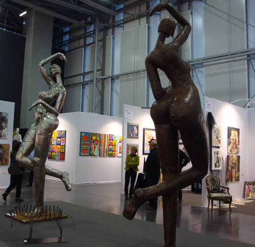 Photos du 1er salon d'Art contemporain à Nantes !
