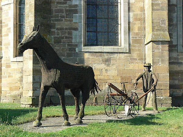 sculpture en fonte