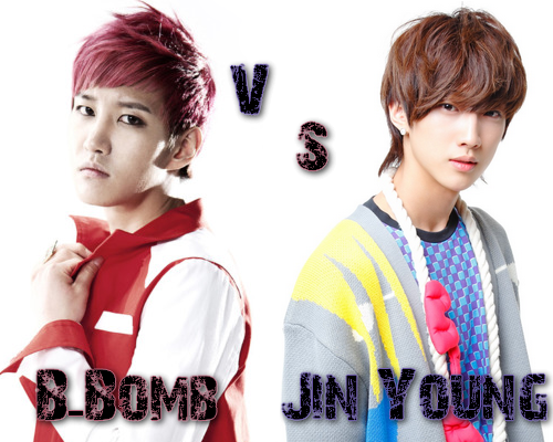 B-Bomb (Block B) vs Jin Young (B1A4) - Round 44