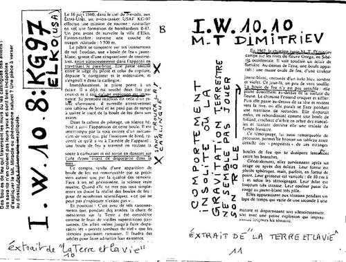 Microscope N°39 l'etat ondulatoire explique la majorité des phénomènes paranormaux P 10 a 19