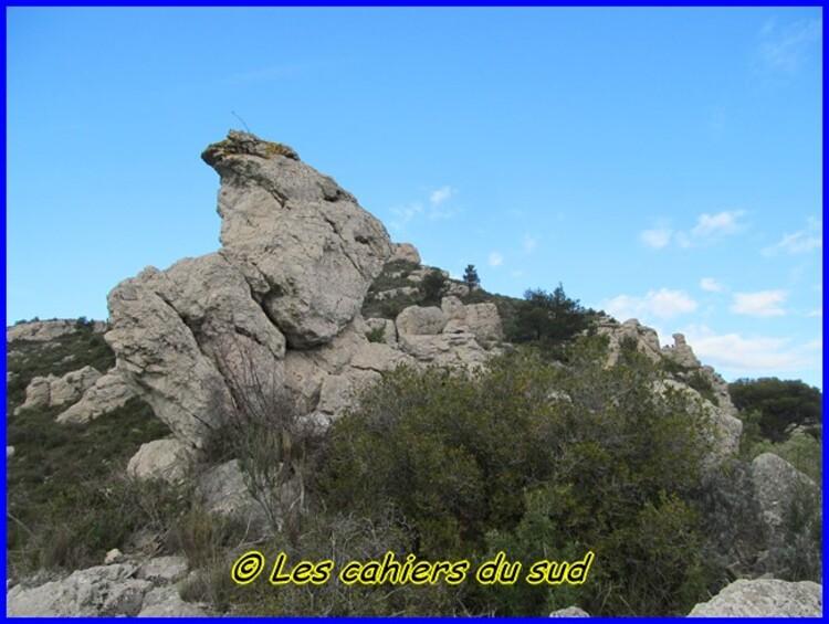 Massif de l'Etoile, la grotte de la Vierge