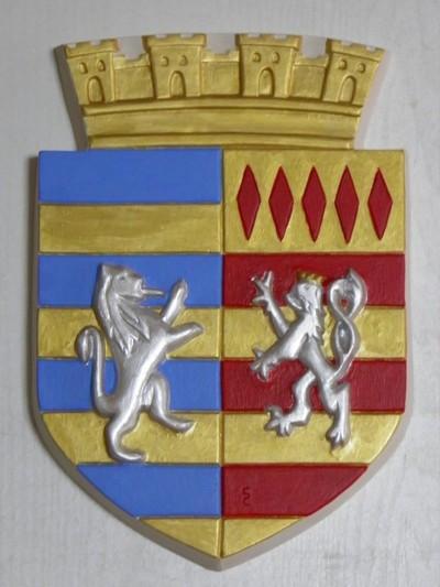 Blog de sylviebernard-art-bouteville : sylviebernard-art-bouteville, Armoirie de Châteauneuf-sur-Charente et Alfter 2012