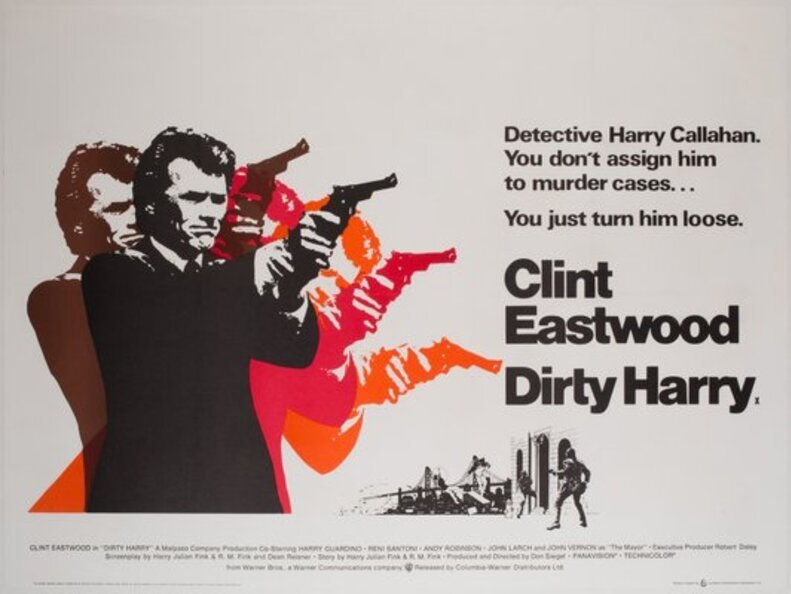 DIRTY HARRY BOX OFFICE 1971