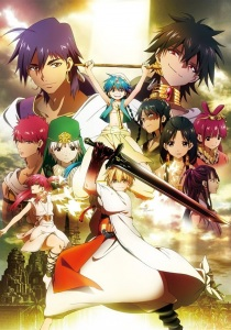 Magi - The Labyrinth of Magic 01 vostfr