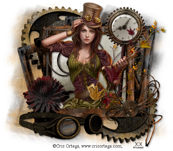 "Tutoriel ""Steampunk"" par Bibi's Tutorials"