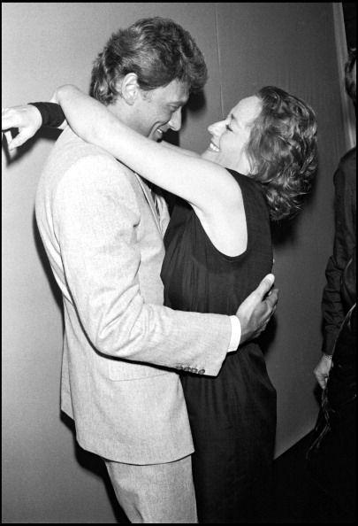 Johnny et Annie Girardot