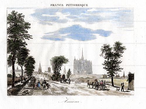 France pittoresque. Amiens. (1835)(recherche.archives.somme.fr)