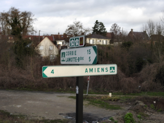 Arrivée sur Amiens