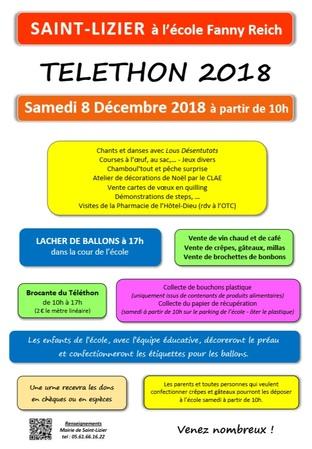 08.12.2018 - Téléthon édition licéroise