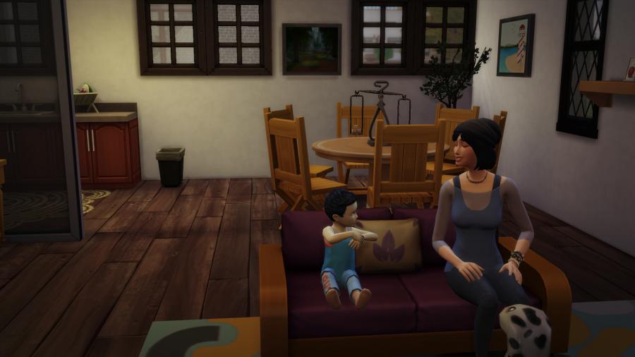 La villa des sims: Chapitre 31