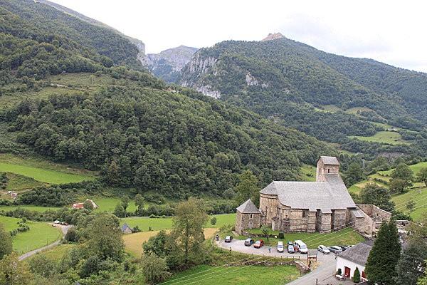 Ste Engrâce -2- l'église romane