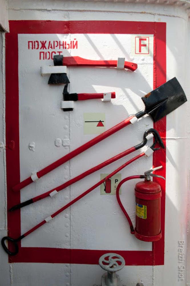 Kruzenstern : Matériel incendie