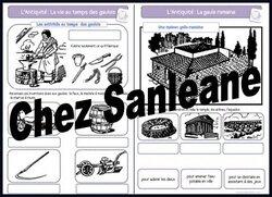 2ème partie: Antiquité: Les Gaulois et les Romains