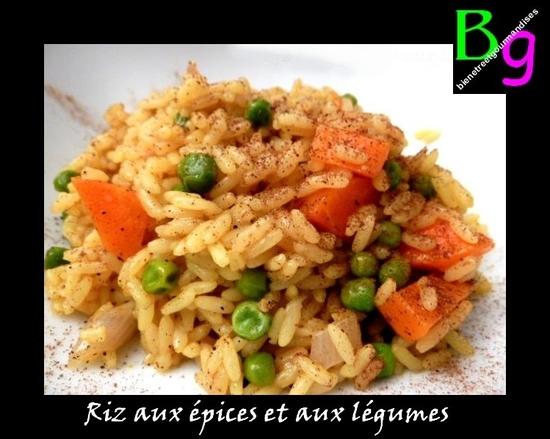 riz aux epices