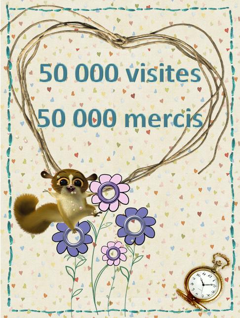 50 000 visites dixmois