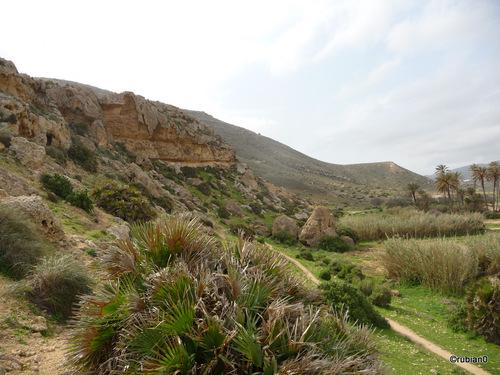 Balade en direction du Castillo de la Bateria à La Playazo de Rodalquilar