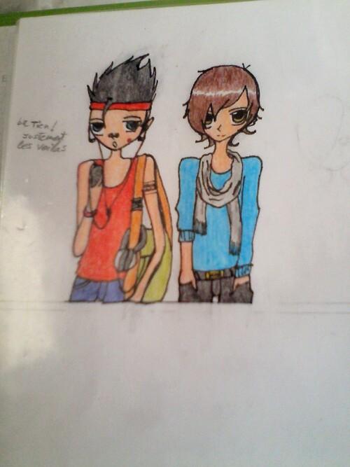 Izaya School personnages