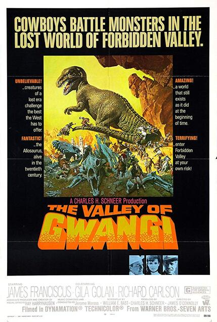 THE VALLEY OF GWANGI BOX OFFICE 1969