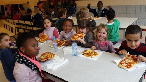 Pizzas au Service d'Accueil