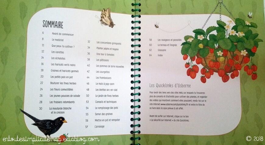 Je cultive mon potager des Éditions Usborne