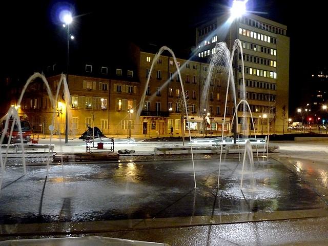 Nouvelle place Mazelle - Les fontaines 4 Marc de Metz 15 11