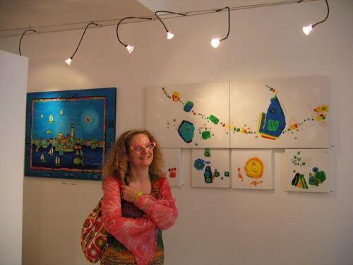 Naissance du blog d'Anne Poiré et Patrick Guallino EXPOSITION AIX EN 2009