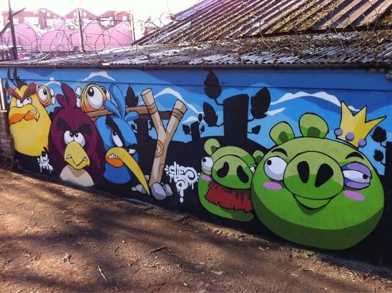 angry-birds-graffiti